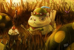 LOL  - Who fed Teemo by beanbean1988