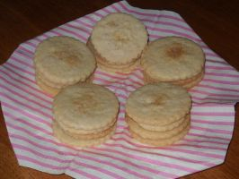 Vanilla Shortbread by Bisected8