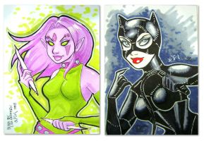 Personal Sketch Cards - MBCC by taeha