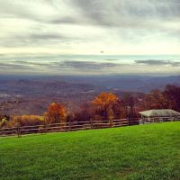 blue ridge view midday by mallorypearce
