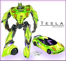 Tesla by Muddy-On-Fire