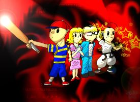 The Earthbound legends by KooboriSapphire