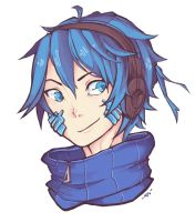 BOOM! HEADSHOT: ENE(-kun) by 9dl