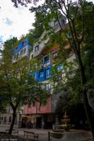 Wien - Hundertwasserhaus by Dragon-Claw666