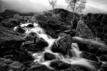 Waterfall from Llyn Idwal by Engazung