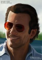 Portrait Bradley Cooper by MasterChill