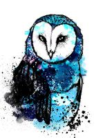 Owl Coloured by olenka168