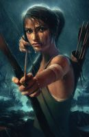 Lara Croft Reborn Contest Entry by mickehill