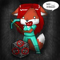Artblock Minecraft by Vani-Fox