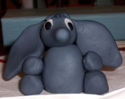 Fondant Elephant by Crosseyed-Cupcake