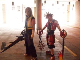 Kingdom Hearts Cosplayers by gaar-naru-sasu101