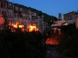 Night - Dolcedo by Gianni36