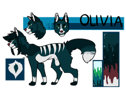 Olivia Reference Sheet by IMANl