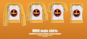 MMD guy shirts+DL by Green-Fighter