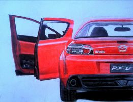 Mazda RX8 by And300ZX