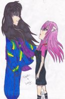 Naraku and Lucy - Poison by ArisaBluFire