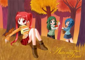 Autumn Time by kurokumo