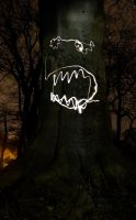 Scary Tree by Bobbwhy