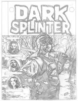 DARK SPLINTER PENCILS by stevescott