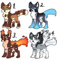 Dog Derps Auction CLOSED by Ide-Adopts
