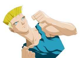 Teen Guile Practice by chou-roninx