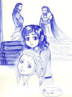 Durin Family_Pen challenge by EPH-SAN1634