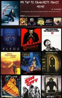 Fave movies and animations by vesner