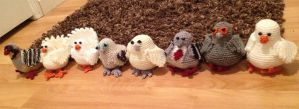 Hatoful Boyfriend Crochet by playful-reverie