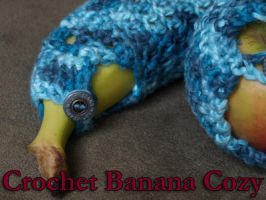 Crochet Banana Cozy Pattern by Eyespiral-stock