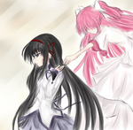 MADOKA 1.0 You are not alone by InfiniteKibou
