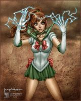 Sailor Moon: Sailor Jupiter by daekazu