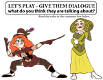Lets Play - Give them Dialogue by DigitalRipple
