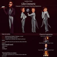 Giles Audition Sheet by IsaiahStephens