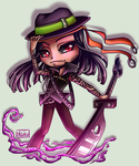 Chibi Commission - Colm for SmokinCute by iKiska