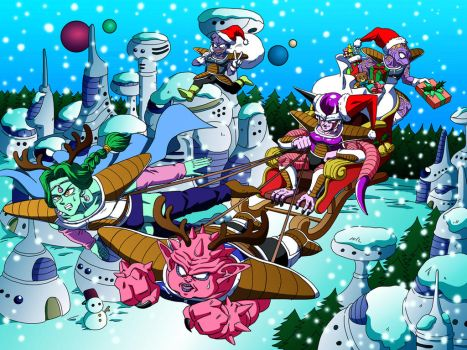 Freiza Force's Christmas by vansolt