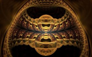 golden cave by eReSaW