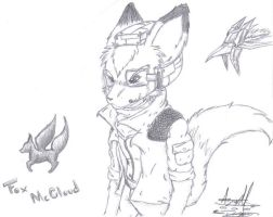 Fox McCloud by MAD-777