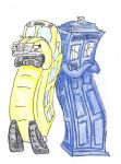 Magic School Bus and TARDIS by Nebulan
