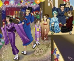 Phoenix Wright Gift Art by Angela-Song-Art