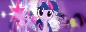 Twilight Sparkle Cover Photo by raredash