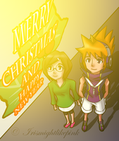 Christmas and New Year by Irismightlikepink