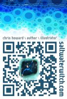 Saltwater Witch poster with QR Code by the0phrastus