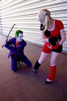 Joker knocked up Harley Part 2 by CaptainGord