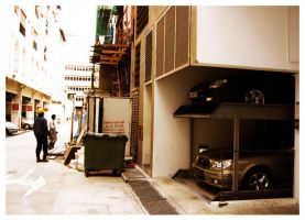 the back alley reconstruct by fleng