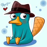 Perry El Ornitorrinco by Nicol-Nicky