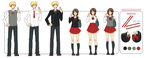 HS101 Uniform Reference (Update) by sehika