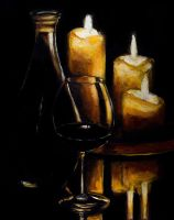Wine and Ambiance by Kevinrichardfineart