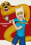 Adventure Time- Finn and Jake by Feynix