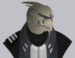 Turian OC Design by sterlingy