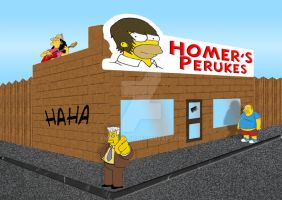 Homers Store by engineerJR